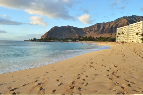 Secluded Waianae beach